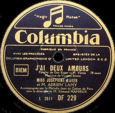 rencontres Columbia 78 RPM Records gamme datant de Johannesburg